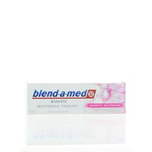Blend-a-med Pasta de dinti 75 ml 3D White Sensitiv Whitening (exp09.05.2020)