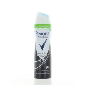 Rexona Spray deodorant femei 75 ml Invisible Black&White(compresat)