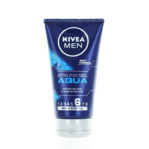 Nivea Men Gel de par 150 ml Aqua Mega Strong Nr:6 (in tub)