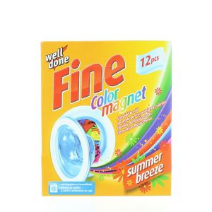 Well Done Fine Absorbant de culoare 12 buc Color Magnet Summer Breeze