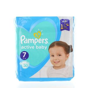Pampers scutece nr.7 15+ kg 30 buc Active baby