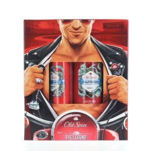 Old Spice Caseta:Spray deodorant+Gel de dus 150+250 ml Wolfthorn