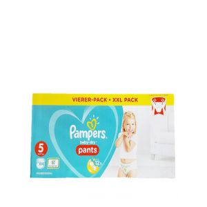 Pampers scutece chilotel nr.5 Maxi 12-17 kg 104 buc Baby-Dry(box)