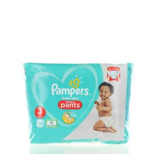 Pampers scutece chilotel nr.3 6-11 kg 33 buc Baby-Dry