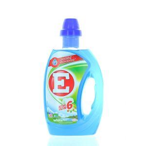 E Active Detergent lichid 1 L 20 spalari White