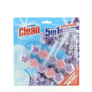 At Home Odorizant wc cu suport 2x45 g Lavender