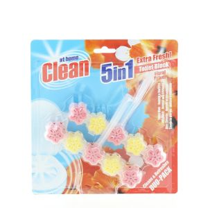 At Home Odorizant wc cu suport 2x45 g Floral