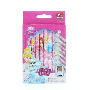 Disney Creioane colorate 8 buc Princess Palace Pets