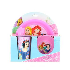 Disney Set pentru masa 5 piese Princess
