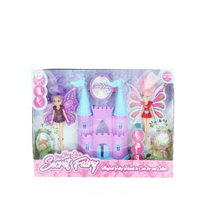 Jucarie Set castel cu papusile Secret Fairy