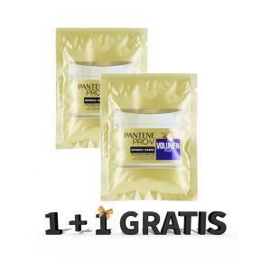Pantene Masca de par 25 ml 2 min Volumen Pur 1+1 GRATIS