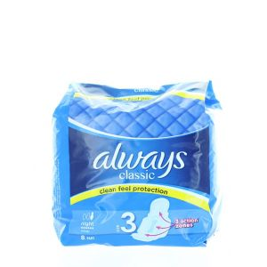Always Absorbante 8 buc Night Size:3