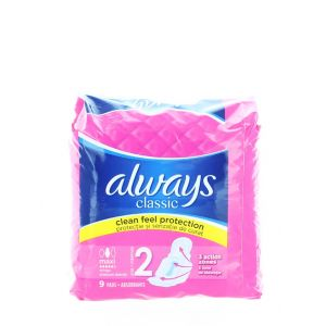 Always Absorbante 9 buc Maxi Classic