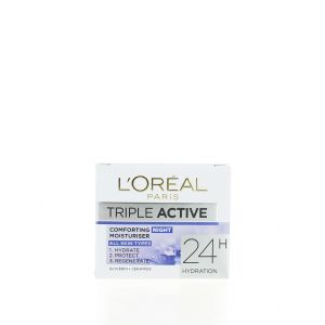 L'oreal Crema de noapte 50 ml Triple Active All Skin Types