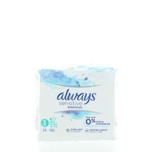 Always Absorbante 14 buc Sensitive Utra Normal S1