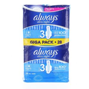 Always Absorbante 28 buc Giga Pack Night S3