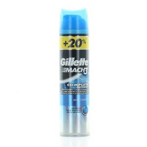 Gillette Gel de ras 240 ml Mach3 Complete Defense Extra Comfort