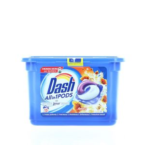 Dash Detergent Capsule 15 buc All in1 Ambra