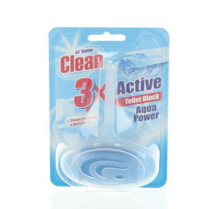 At Home Odorizant wc cu suport 40 g 3XActive Aqua Power