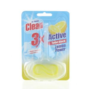 At Home Odorizant wc cu suport 40 g 3XActive Lemon Power