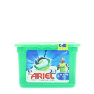 Ariel Detergent Capsule 3in1 13 buc Active Deo Fresh
