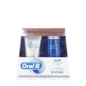 Oral-B Pachet:Pasta de dinti+Gel de protectie 85+63 ml Gum Intensive Care