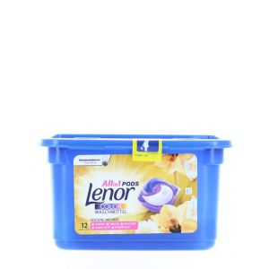 Lenor Detergent Capsule 12 Buc Allin1 Goldene Orchidee