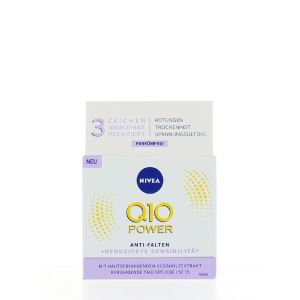 Nivea Crema antirid de zi 50 ml Q10 Power Sensitive