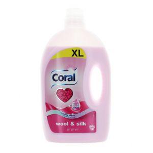 Coral Detergent lichid 2.5 L 50 spalari Wool&Silk