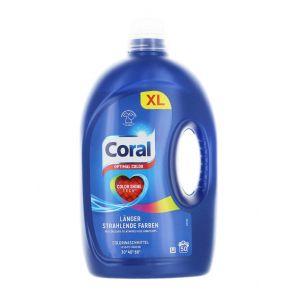Coral Detergent lichid 2.5 L 50 spalari Optimal Color
