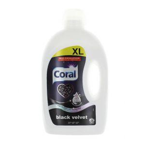 Coral Detergent lichid 2.5 L 50 spalari Black Velvet