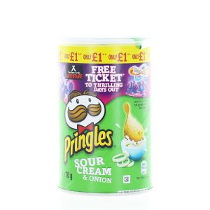 Pringles Chips 70 g Sour Cream&Onion