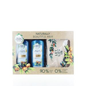 Herbal Essences Caseta:Sampon+Balsam+Gentuta 400+360 ml Argan