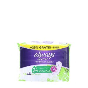 Always Discreet Absorbante pentru incontinenta20 buc Small Plus