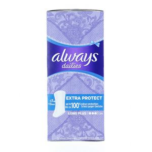 Always Absorbante subtiri zilnice 24 buc Extra Protect