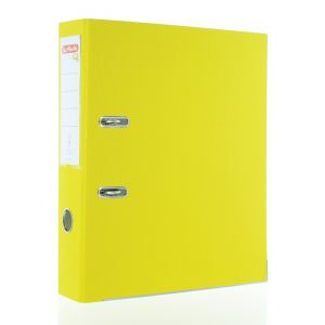 Herlitz Biblioraft One File A4 8 CM 1 buc Galben PVC
