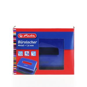 Herlitz Perforator Birou 1.6MM 1 buc Albastru