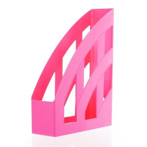 Herlitz Suport Dosare Plastic 4buc/cutie Pink A4