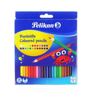 Pelikan Creioane Color Lacuite 24buc/set Varf 3,0 MM