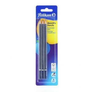 Pelikan Creion Grafit (HB) 3 buc Lacuite