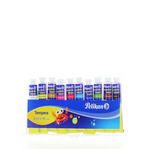 Pelikan Tempera Set 10 Culori 10x12 ML