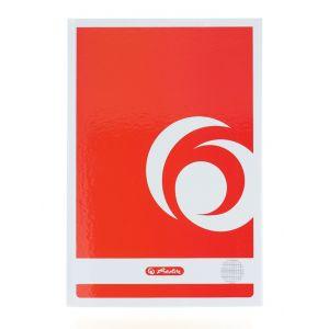 Herlitz Registru Coperti Carton A4 Patratele 1 buc 100 File