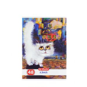 Herlitz Caiet A5 48 File Cod:244 Crazy Cats-Dictando