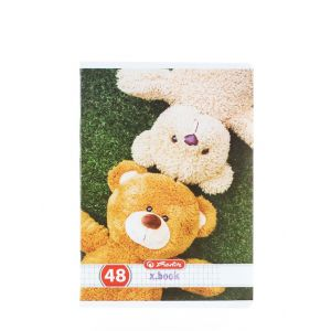 Herlitz Caiet A5 48 File Cod:478 Teddy-Patratele