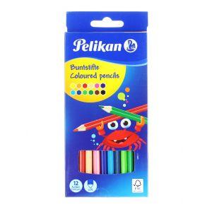 Pelikan Creioane Color Lacuite 12buc/set Varf 3,0 MM