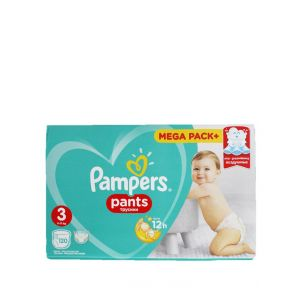Pampers scutece chilotel nr.3 6-11 kg 120 buc Mega Pack