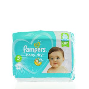 Pampers Scutece nr.5  11-16 kg 44 buc Baby-Dry