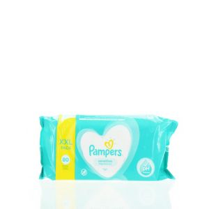 Pampers Servetele umede 80 buc Sensitive XXL
