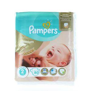 Pampers Scutece nr.2 Mini 3-6 kg 80 buc Premium Care
