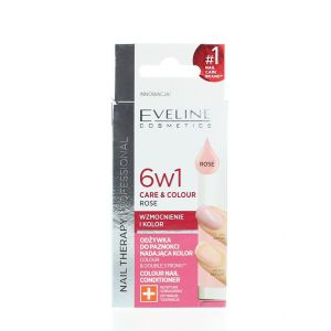 Eveline Tratament Unghii 12 ml Rose 6 in1